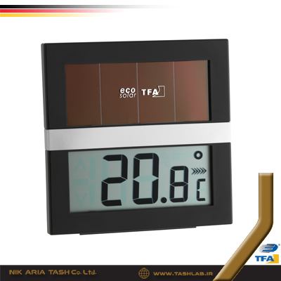 ترموهیدرومتر دیجیتال 5017 solar تفا