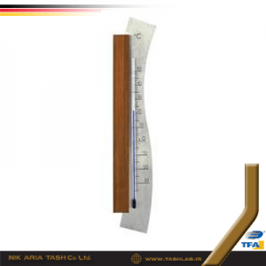 ترمومتر محیط چوبی فلز 1045 تفا