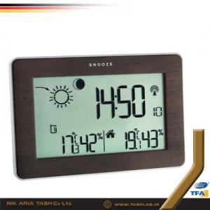 ترموهیدرومتر 1128 Weather station SLIM تفا